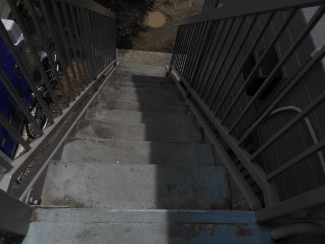 マンション共用部の定期清掃|横浜市鶴見区のSマンションにて巡回清掃施工写真3