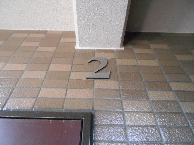 マンション共用部の定期清掃|横浜市西区のBマンションにて巡回清掃施工写真3