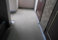マンション共用部の定期清掃